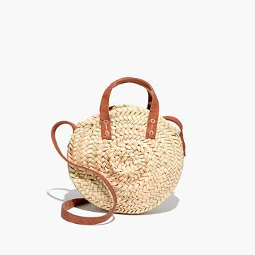 Madewell Indigo & Lavender™ Small Lucena Shopper Basket