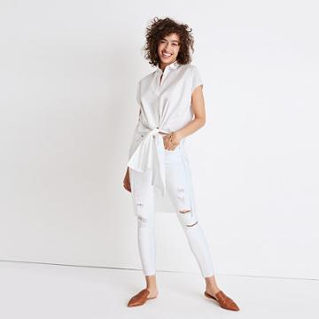 Madewell Side-slit Tunic Shirt