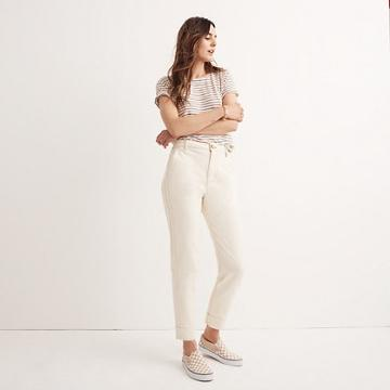 Madewell Tapered Wide-leg Pants