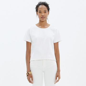Madewell Structured Crop Tee