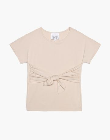 Madewell The Great Eros Tilia Knot-front Tee
