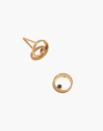 Madewell Madewell X Still House 14k Gold Lapediamond Earrings