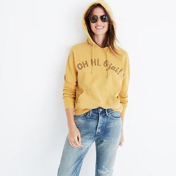 Madewell Rivet & Thread Oh Hi Ojai U Hoodie Sweatshirt