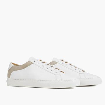 Madewell Koio Capri Bianco Low-top Sneakers In White Leather