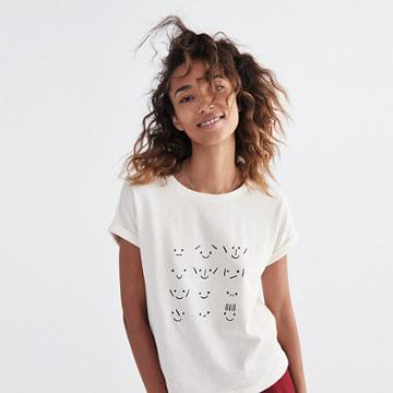 Madewell Faces Graphic Tee