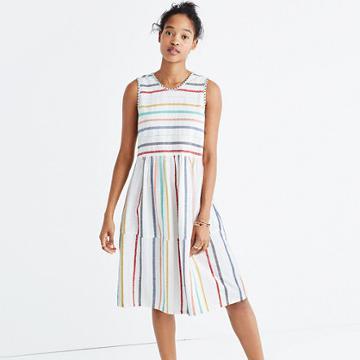 Madewell Ace & Jig™ Hot Teasdale Striped Dress