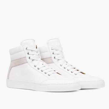 Madewell Koio Primo Bianco High-top Sneakers In White Leather