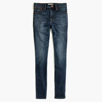 Madewell 10 High-rise Skinny Jeans In Danny Wash