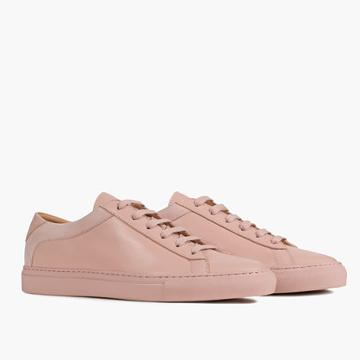 Madewell Koio Capri Fiore Low-top Sneakers In Pink Leather