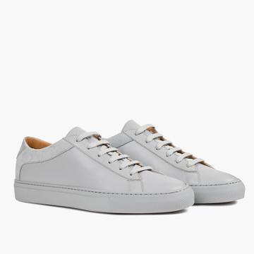 Madewell Koio Capri Perla Low-top Sneakers In Grey Leather
