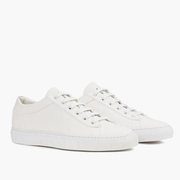 Madewell Koio Capri Bianco Low-top Sneakers In White Canvas