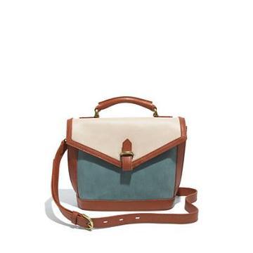 Madewell The Sloane Mini-satchel In Colorblock