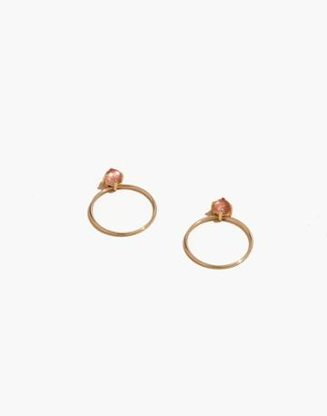 Madewell Madewell X Winden 14k Gold Meghan Sunstone Earrings