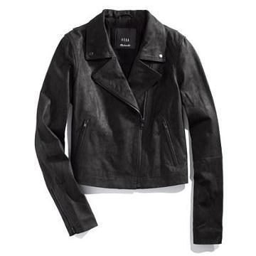 Madewell Veda® X Madewell Leather Motorcycle Jacket