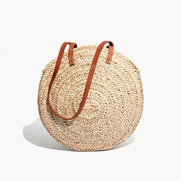 Madewell Indigo & Lavender™ Large Lucena Shopper Basket