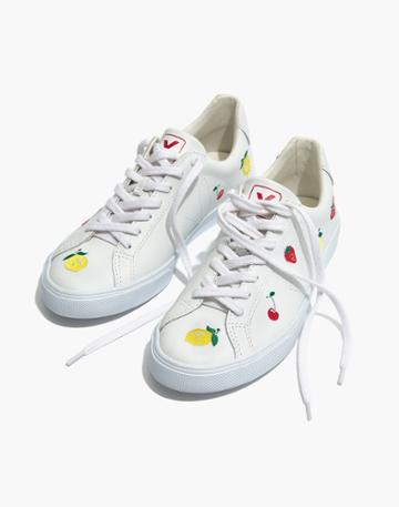 Madewell Madewell X Veja Fruit Embroidered Sneakers Esplar Low Sneakers