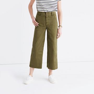 Madewell Dearborn Wide-leg Pants