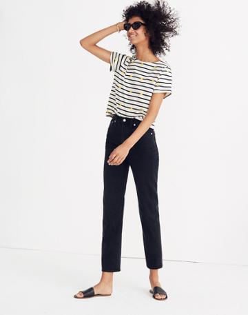 Madewell Classic Straight Jeans In Lunar Wash