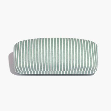 Madewell Striped Sunglass Case