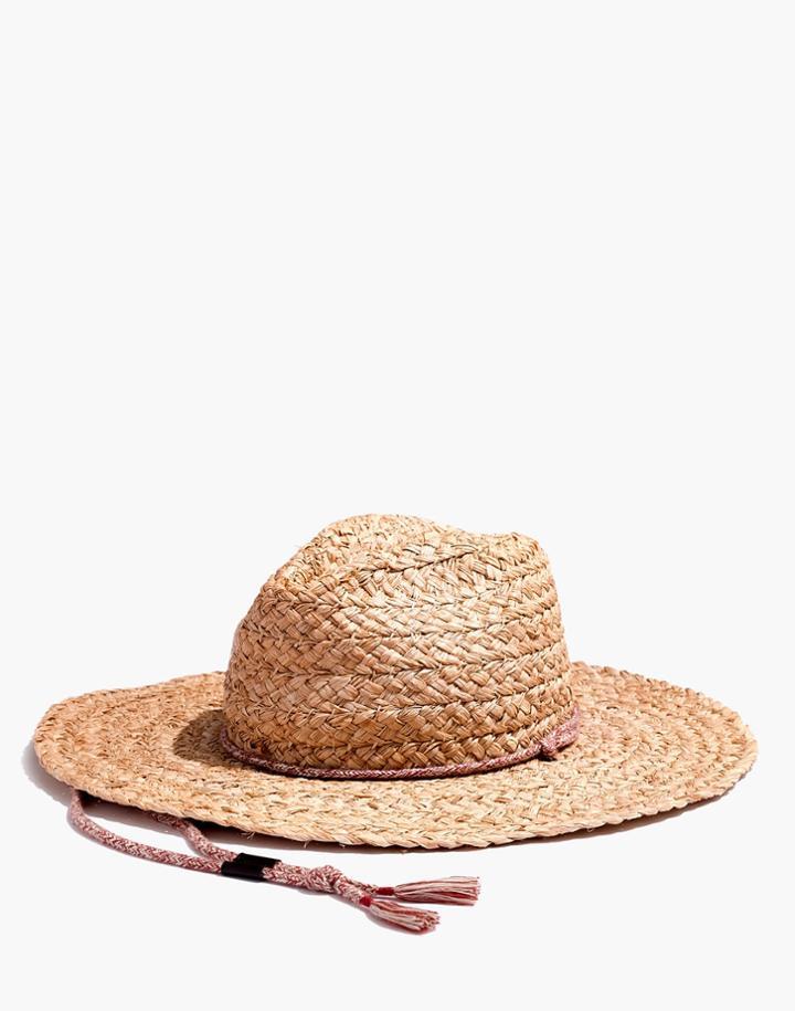 e09a60e064949 Madewell Madewell X Biltmore Braided Fedora Hat