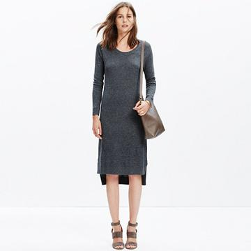Madewell Side-slit Sweater-dress