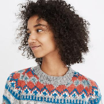 Madewell Chamula™ Fair Isle Pullover Sweater