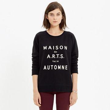 Madewell Maison Des A.r.t.s. Sweatshirt