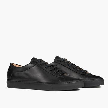 Madewell Koio Capri Nero Low-top Sneakers In Black Leather
