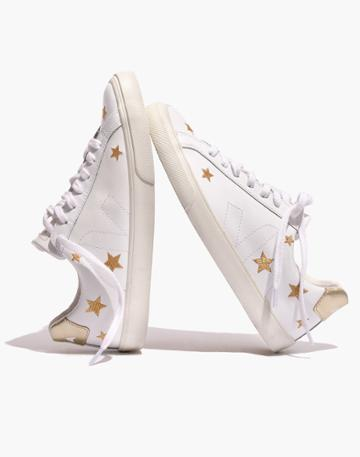 Madewell Madewell X Veja Esplar Low Sneakers In Embroidered Stars