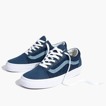 Madewell Madewell X Vans® Unisex Old Skool Sneakers In Denim