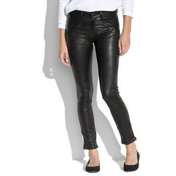 Madewell Leather Ankle-zip Pants