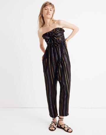 Madewell Apiece Apart Striped Zaza Gipsea Jumpsuit