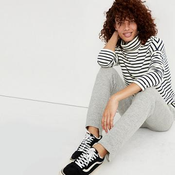Madewell Cozy Step-hem Sweatpants