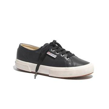 Madewell Superga® X Madewell 2095 Leather Sneakers In Navy