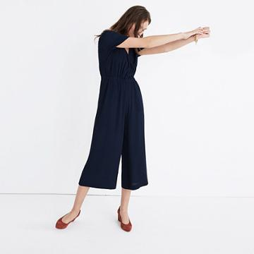 Madewell Starnight Short-sleeve Jumpsuit