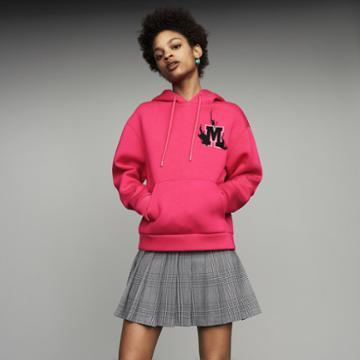 Maje Oversize Hooded Sweatshirt