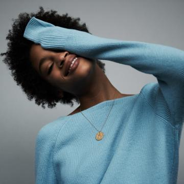 Maje V-back Sweater