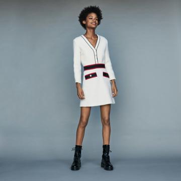 Maje Short Tweed Dress
