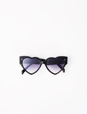 Maje Acetate Heart-shaped Sunglasses