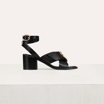 Maje Sandal With Buckle