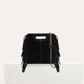 Maje M Mini-bag With Leather Fringes