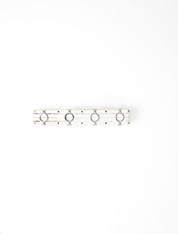 Maje Leather Belt With Metallic Details