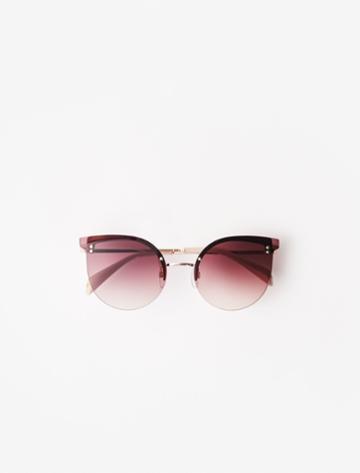 Maje Acetate Cat Eye Sunglasses