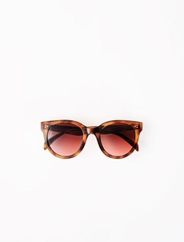 Maje Round Acetate Sunglasses