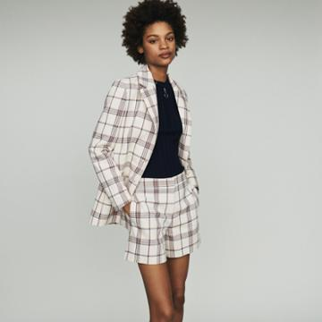 Maje Tailor's Jacket With Checks