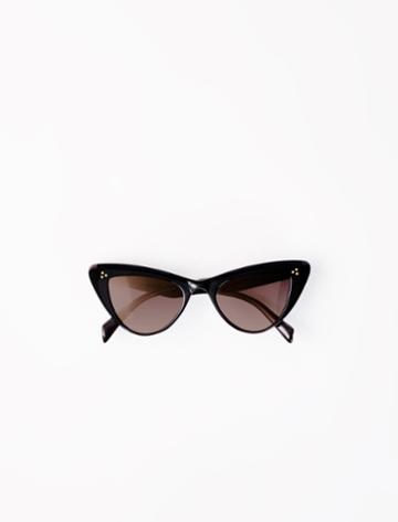 Maje Acetate Butterfly Sunglasses