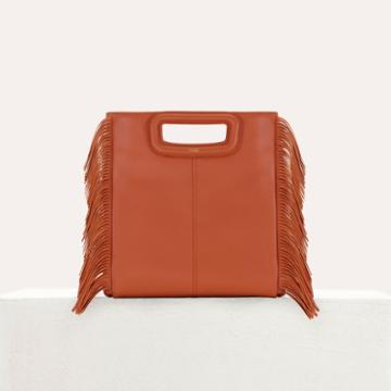 Maje M Bag With Fringes