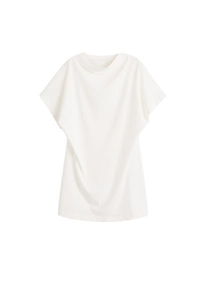 Mango Mango Oversize Organic Cotton T-shirt