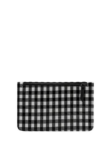 Violeta By Mango Violeta By Mango Gingham Check Cosmetic Bag
