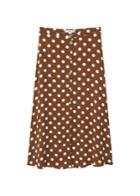 Mango Mango Polka-dot Skirt